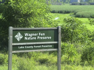 Wagner Fen Sign